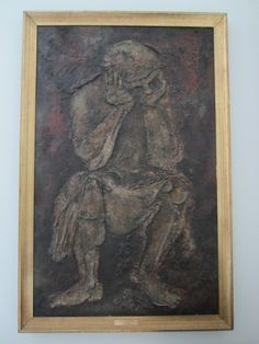 Vazquez Malboysson Madrid Abstract Mid Century Portrait Impressionist Museum Quality