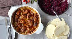 Moravský vrabec z morčacieho mäsa s červenou kapustou - Recepty Kulinárium Chana Masala, Food And Drink, Ethnic Recipes