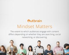 Important findings based on mindset #dataanalysis Outbrain for #contentmarketing success on different platforms.