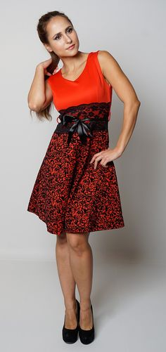Newly added product: Women's red sleev... Have a look here:http://www.fbargainsgalore.co.uk/products/womens-red-sleeveless-flock-velvet-lace-party-sexy-skater-dress?utm_campaign=social_autopilot&utm_source=pin&utm_medium=pin