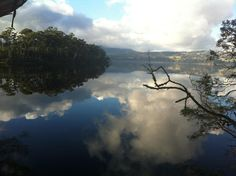 The beautiful Huon River in southern Tasmania, Australia. We have such gorgeous scenery here.