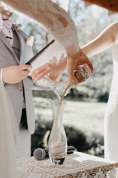 Celebrate unity with one of these sweet (nontraditional) unity-ceremony ideas! Get inspired by knot tying, candle light, tree planting, wine pouring, and more!