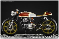 1974 Honda CB550K 'Lucy' by Hot Sake Cycles - Pipeburn - Purveyors of Classic Motorcycles, Cafe Racers & Custom motorbikes