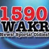 WAKR 1590 AM Akron, Ohio Radio. Format: News, Sports, Oldies