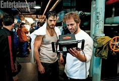 'Man of Steel': Henry Cavill and director Zack Snyder
