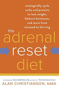 The Adrenal Reset Diet: Strategically Cycle Carbs and Proteins to Lose Weight, Balance Hormones, and Move from Stressed to Thriving by Alan Christianson NMD http://smile.amazon.com/dp/0804140537/ref=cm_sw_r_pi_dp_MvaOub1D5V023