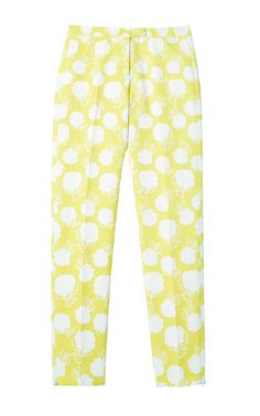 Rose Jacquard Skinny Pants by MSGM for Preorder on Moda Operandi