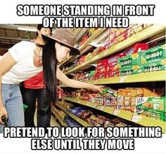 Every Time I'm At The Grocery Store... #funny
