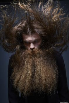 is a best beard contest in N'Awlins....