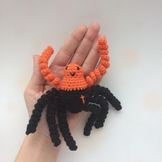 "5 Likes, 1 Comments - Raluca Drugan (@mygoldencrochet) on Instagram: ""#handmade #spider #crochetspider"""