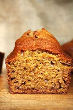 Make a loaf of pumpkin bread.