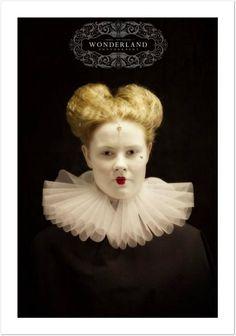 elizabethan makeup / hair J.Broomhall makeup artist & body art