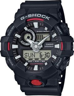 Casio G-Shock Black Dial Mens Multifunction Digital Watch GA700-1A