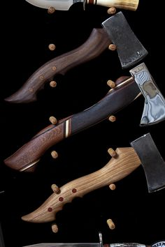 Axes by Jesse Reed Blades Of Glory, Hand Axe, Axe Handle, Tomahawk Axe, Beil, Viking Axe, Custom Knives, Knives And Swords, Rifles
