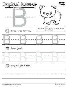 Learning To Write Abc Sheets – Letter Worksheets Letter B Worksheets, Rhyming Worksheet, 2nd Grade Worksheets, Halloween Math Worksheets, Preschool Worksheets, Free Preschool, Preschool Learning, Preschool Winter, Learning To Write