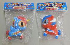 SDCC Comic Con 2013 Exclusive Tokidoki Comic Corno Unicorno Blue Red Set   eBay