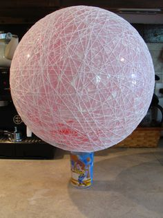 Carey Creates: DIY String Chandelier