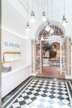 El Pintón Restaurant in Seville, Spain | Restaurant Interior Design by Lucas y Hernández-Gil Arquitectos