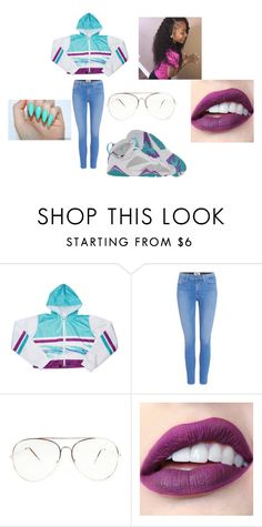 """Dearra and Ken"" by zyriajones ❤ liked on Polyvore featuring Paige Denim and Retrò"