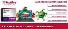 McAfee technical support phone number 1-888-308-5960 is one of the popular antivirus software & has been protecting millions of PCs for more than a decade. McAfee enables you to keep up your PC performance, securely surf the website & safely connect to the Internet.visit here:-http://goo.gl/aTB8WL