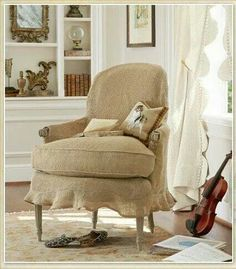 skirted chair cover