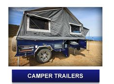 Visit our website to find out more about the Comanche deluxe walk in camper trailer. This camper trailer has plenty of space for the whole family. Camp Trailers, Tiny Trailers, Off Road Camper Trailer, Outdoor Gear, Tent, Eagle, Camping, Campsite
