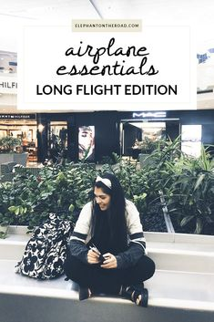 Airplane Essentials: Long Flight Edition — Elephant On The Road – travel outfit plane long flights Airplane Essentials, Carry On Essentials, Backpack Essentials, Carry On Packing, Packing Tips For Travel, Travel Hacks, Airplane Travel, Long Flights, South America Travel