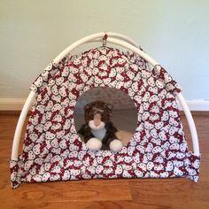Hello Kitty Modern Cat Furnature Cat Bed Cat by FrancineElizabeth