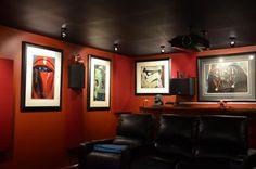 basement theatre room