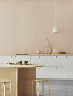 Retro kitchen: 60 amazing decor ideas to check out - Home Fashion Trend Home Decor Kitchen, Kitchen Interior, New Kitchen, Home Kitchens, White Kitchen Cabinets, Wooden Kitchen, Kitchen Worktop, Etagere Design, Sweet Home