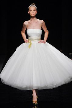 Vestido novia bailarina Rosa Clara 2010