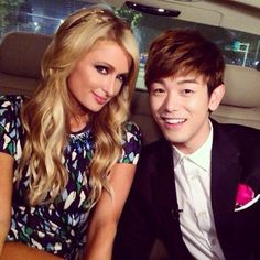 Paris Hilton enjoys a tour around Seoul with Eric Nam | http://www.allkpop.com/article/2014/07/paris-hilton-enjoys-a-tour-around-seoul-with-eric-nam