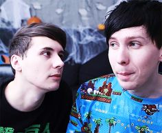 The way he be lookin at phil