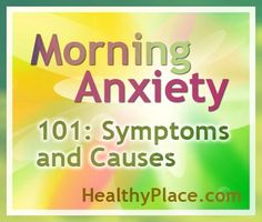 Morning Anxiety 101: Symptoms and Causes | My anxiety is always worse in the mornings. Learn how cortisol, low blood sugar, and your environment can cause mornings to be filled with anxiety.