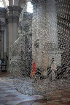 Together Exhibition by Jaume Plensa Venice Biennale 2015. Photo Jonty Wilde | Yellowtrace art installation