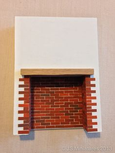 How to make an Inglenook or chimney breast.