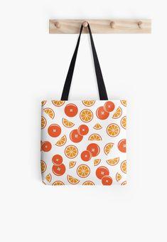 'Orange Design' Tote Bag by Shane Simpson Orange Design, Canvas Bags, Orange Bag, Poplin Fabric, Iphone Wallet, Cotton Tote Bags, Shopping Bag, Retro, Stuff To Buy