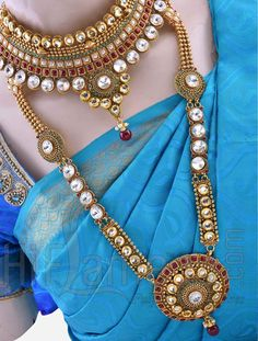 Bridal Heavy Jewellery Set for Marriage