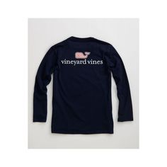 Boys' T-shirts: VV Logo Graphic T-Shirt - Vineyard Vines ($18) ❤ liked on Polyvore featuring tops, shirts, t-shirts, vineyard vines and tops/outerwear