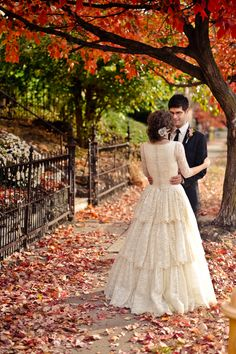 Oh my. I love the skirt. So much. Not to mention the whole fall wedding idea.