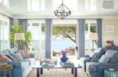 Florida Beach Cottage with Beautiful Coastal Interiors