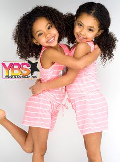Pretty in pink for this wayback Wednesday💕💕💕 Photo by Milton Perry Cute Mixed Babies, Cute Babies, Baby Kids, Twin Models, Child Models, Beautiful Children, Beautiful Babies, Celebrity Twins, Bless The Child