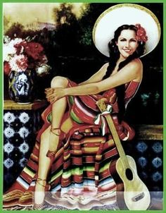 mexican pin-up