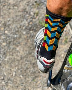 #cycling #socks #socksdesign Cycling Outfit, Socks, Sneakers, Fashion, Trainers, Moda, Sock, Women's Sneakers, Fasion