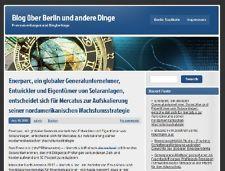 Sie haben was zu verkaufen? Selbst verkaufen Berlin-stadtportal.de Blog über Berlin mit News und Pressemeldungen abzugeben! http://www.berlin-stadtportal.de/