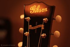 Gibson Acoustic Guitars.  Yum.