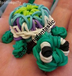 OFFICIAL Kaleidoscope Turtle for the Rainbow Loom