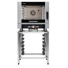 Moffat EC40D5SK40A Turbofan Electric Full Size Combi Oven 5 Hotel Pan Capacity with Touch Sensitive Controls  SK40A Stand *** BEST VALUE BUY on Amazon Combi Oven, Wall Oven, Electric, Kitchen Appliances, Touch, Amazon, Home, Diy Kitchen Appliances, Home Appliances