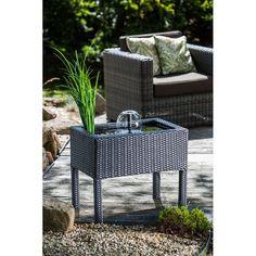 Wasser dekorativ und entspannt in den heimischen Lebensraum zu integrieren ist auch auf einer kleineren Fläche möglich.