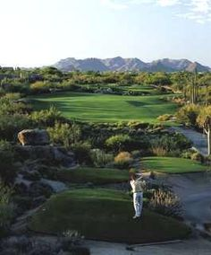 The Boulders Resort, stark contrasts abound. Lush manicured tees, fairways and putting greens, surrounded by stark dessert wildlife, a javelina crossed the fairway as we played. They are wild pigs, and a rather unusual site on a golf course, but not in the southwest.